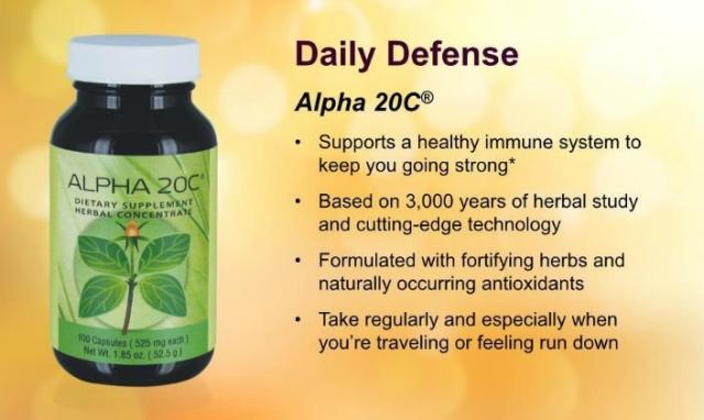 Alpha 20 C Details
