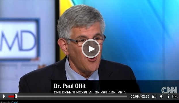 Dr. Paul Offit on CNN