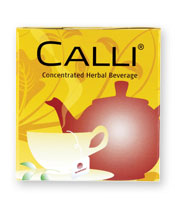Calli is an herbal beverage with the benefits of green tea