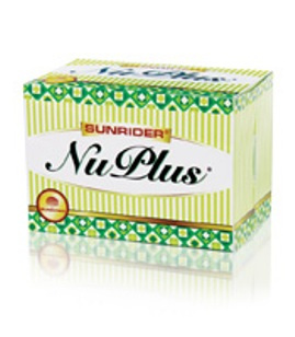 NuPlus powered nutritional drink mix