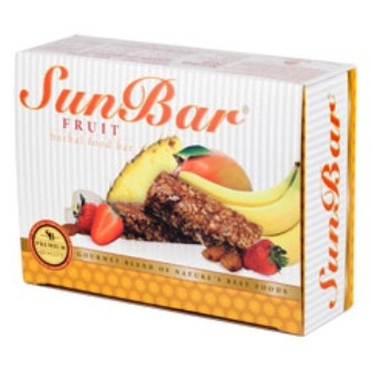 Fruit Sunbars are Natural Foods