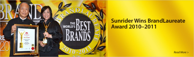 Sunrider Best Brands Award Banner