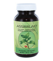 Assimilaid/Digestive System Supplements/100 Capsules/Bottle