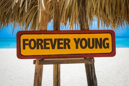 Anti-Aging Forever Young Sign