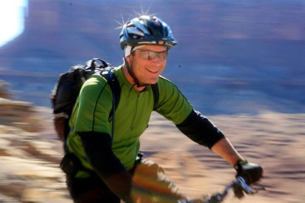 Cliff Smith on White Rim Trail Bike Ride