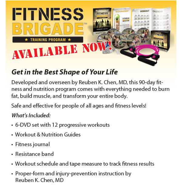 Sunrider Fitness Brigade Training Program List