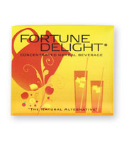 Fortune Delight/Low Calorie Drink Mix/10 Pack/3g each/Pick Your Flavor