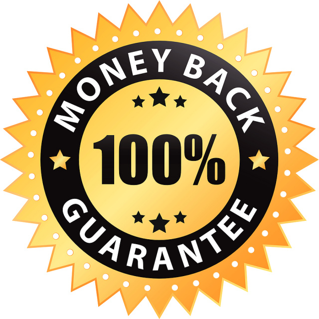 Money Back Guarantee logo