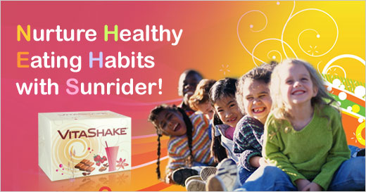 Nurture Healthy Eating Habits with Sunrider