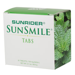 SunSmile Tabs for Natural Oral Care